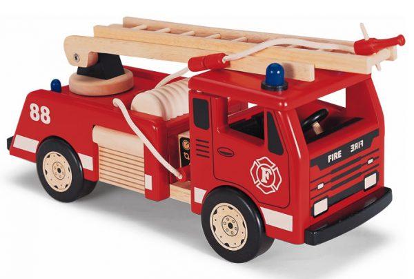 Pintoy - Brannbil med utstyr