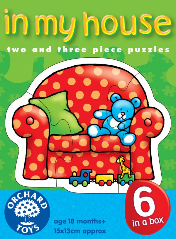 Orchard Toys - Puslespill - In my house