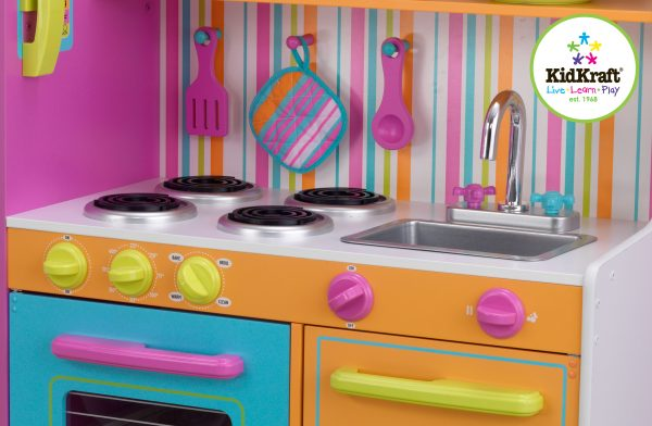 KidKraft Deluxe Big & Bright Kjøkken
