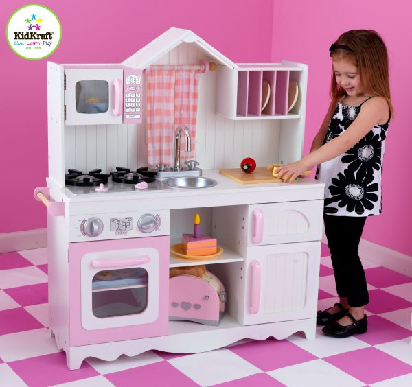 KidKraft Moderne Landlig Kjøkken
