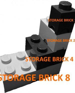 LEGO - Oppbevaringskasse 4 - Lys Blå-0