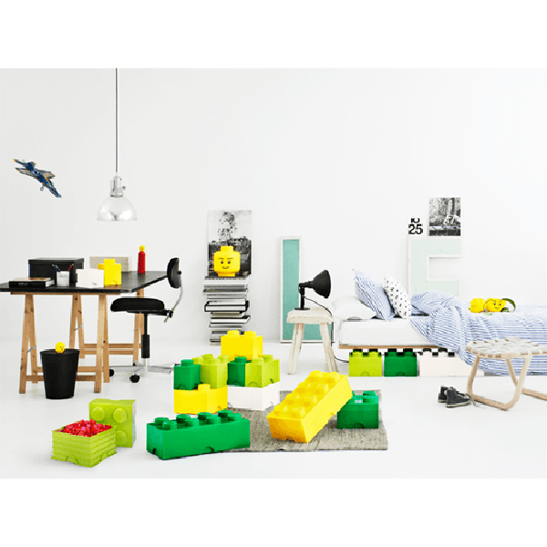 LEGO - Oppbevaringskasse 4 - Lys Blå-4368