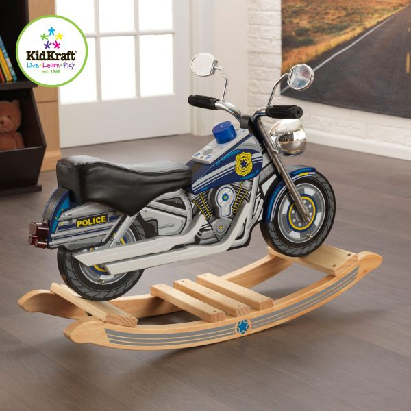 KidKraft Politi Motorsykkel Gyngehest