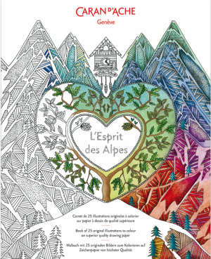 Fargebok L'Esprit des Alpes