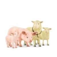 Gråtass Bondegårds dyr gris og sau