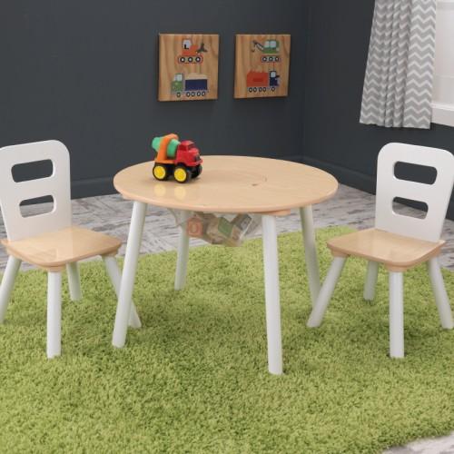 KidKraft - Rundt bord og stol sett