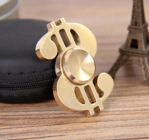 Dollar fidget spinner-0