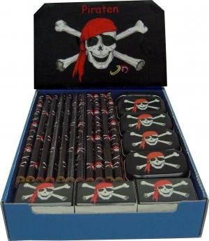 Pirat Blyant, Viskelær Og Display