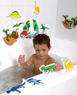 EduShape Tubfun Magic Creation Dinosaurer-0