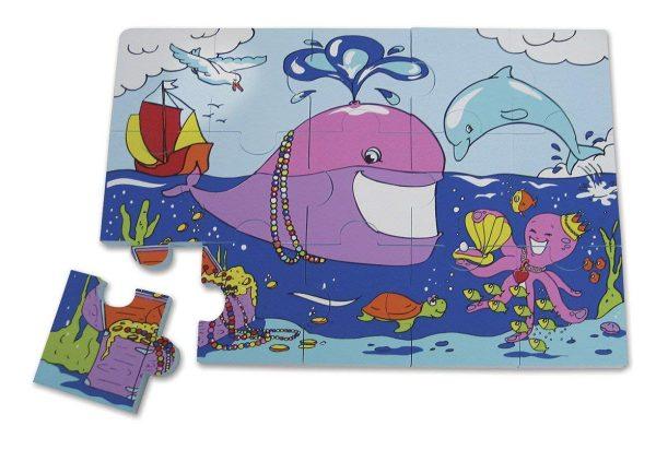 EduShape Puzzle Fun Sjøliv-4186