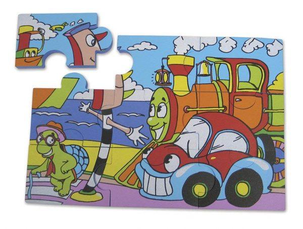 EduShape Puzzle Fun Sjøliv-4189