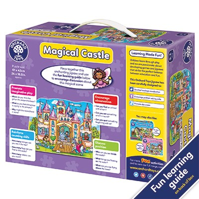 Orchard Toys - Magical Castle Puslespill