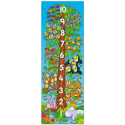 Orchard Toys - One, Two, Tree Puslespil