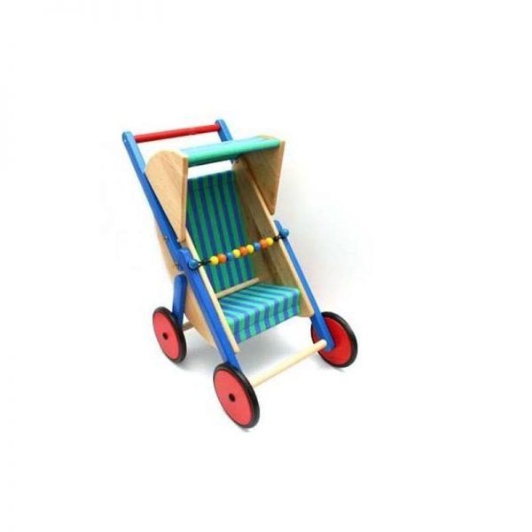 Sportsvogn for dukker