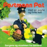 Postman pat - med sin svarte og hvite katt