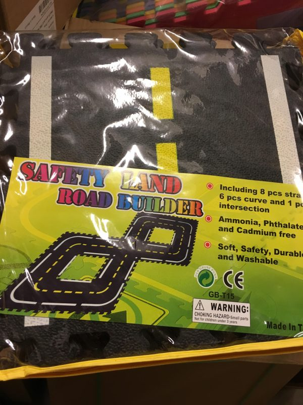 Edushape - Safety Land Road Builder -0