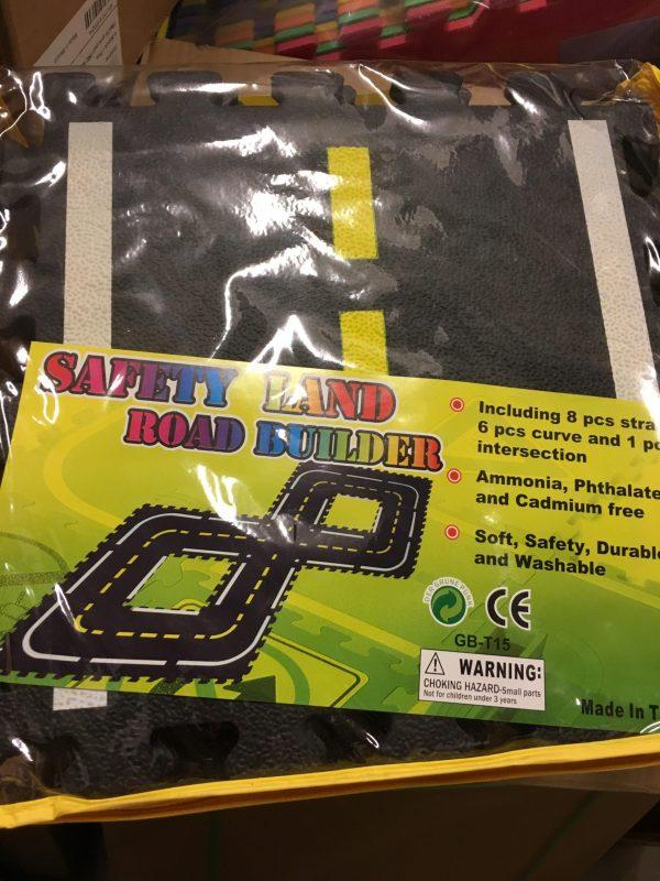 Edushape - Safety Land Road Builder -0
