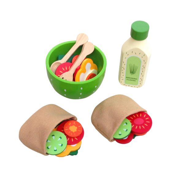 AMLeg Salatbolle med pitabrød