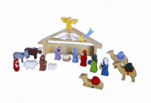 SRI Toys Trelekesett Jesu Fødsel-0