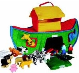 SRI Toys Trelekesett Noahs Ark Soft-0