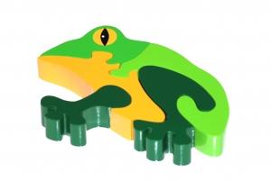 SRI Toys Klossepuslespill Frosk-0