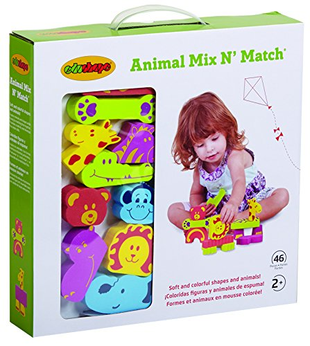 EduShape Dyr Mix n' Match-4342