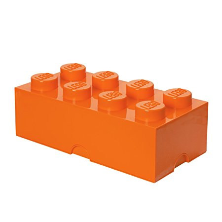 LEGO - Oppbevaringskasse 8 - orange