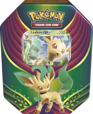 Pokemon Tin Fall 18 Evolution - Leafeon-0