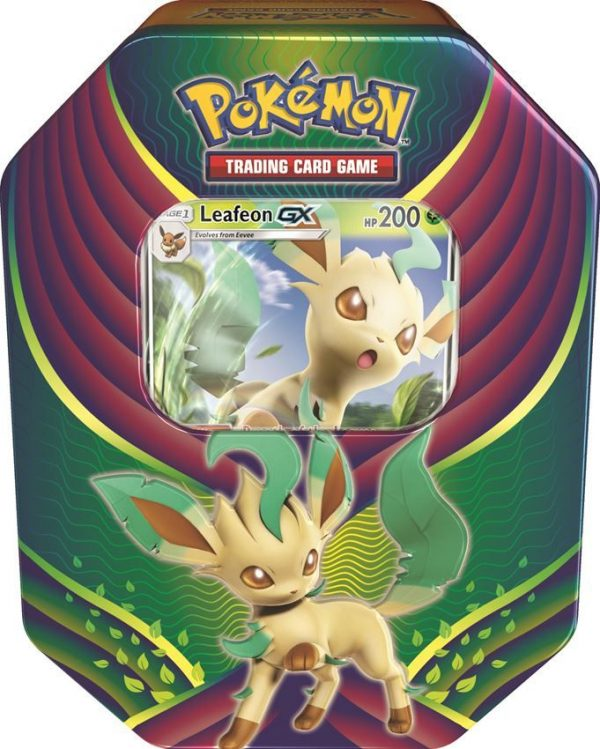 Pokemon Tin Fall 18 Evolution - Leafeon-0