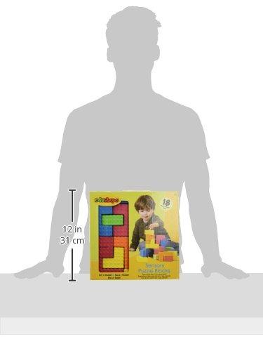 Edushape Sensory Puzzle Blocks-4632