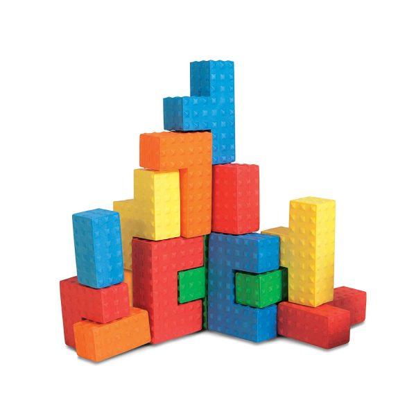 Edushape Sensory Puzzle Blocks-4628
