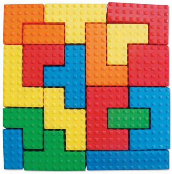 Edushape Sensory Puzzle Blocks-4631