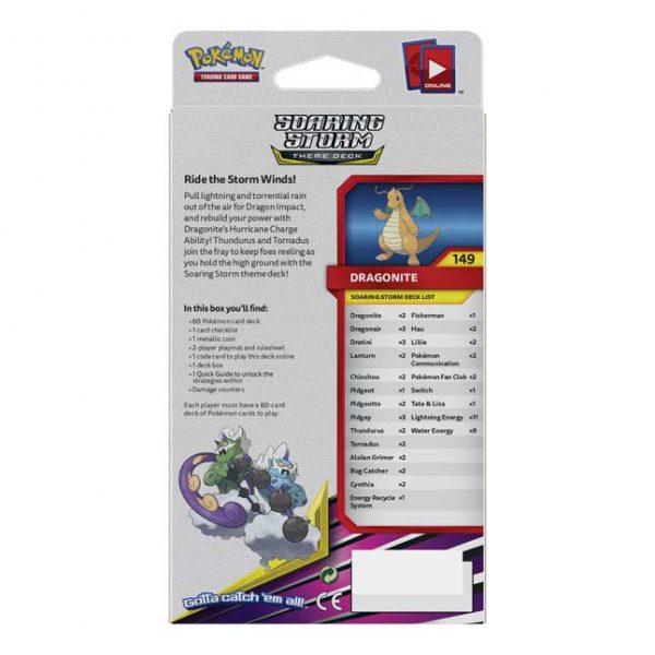 Pokémon TCG: Sun & Moon-Unified Minds Soaring Storm Theme Deck-4654