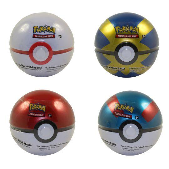 Pokémon Tin PokeBall Fall 2019