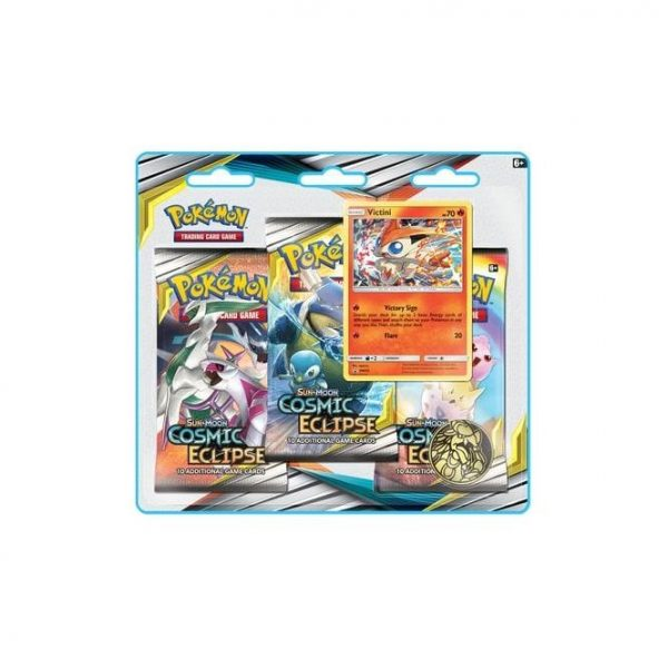Pokemon Blister Pack - 3 Sun & Moon: Cosmic Eclipse