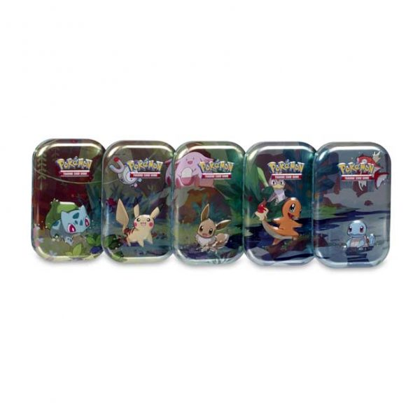 Pokemon Poke mini tin kanto friends