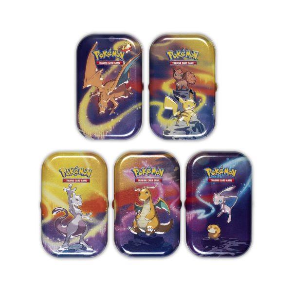 Pokemon Poke mini tin kanto power