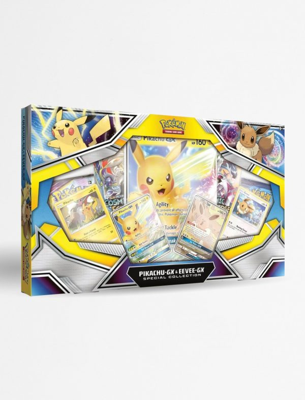 Pokemon Poke Box Pikachu-GX & Eevee-GX Spcial Collection